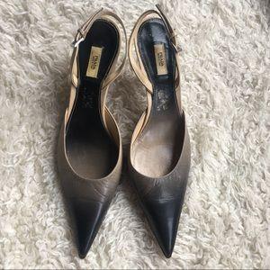 Prada Vintage Slingback Heels